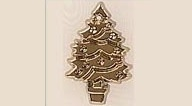 Mill Hill 12106 Christmas Tree Gold (1 vnt)