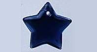 Mill Hill 12176 Large Flat Star Royal Blue (1 vnt)