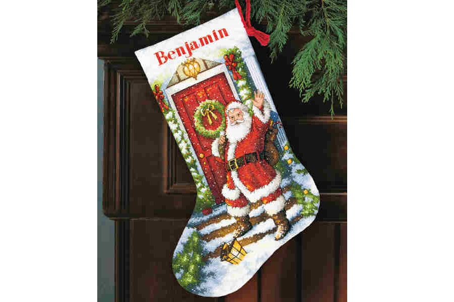 "Kojinė ""Welcome Santa Stocking"" (8901)"
