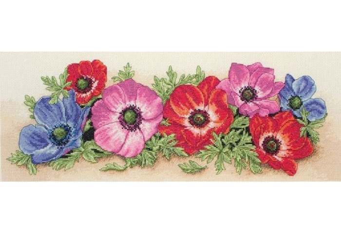 Spray of Anemones (Anchor PCE733)