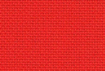 Zweigart Aida (16ct). Sp. Christmas Red (954), 55x100 cm