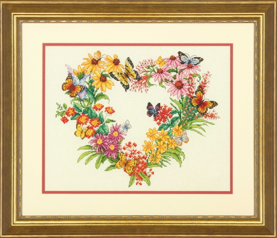 Wildflower Wreath  (35336)