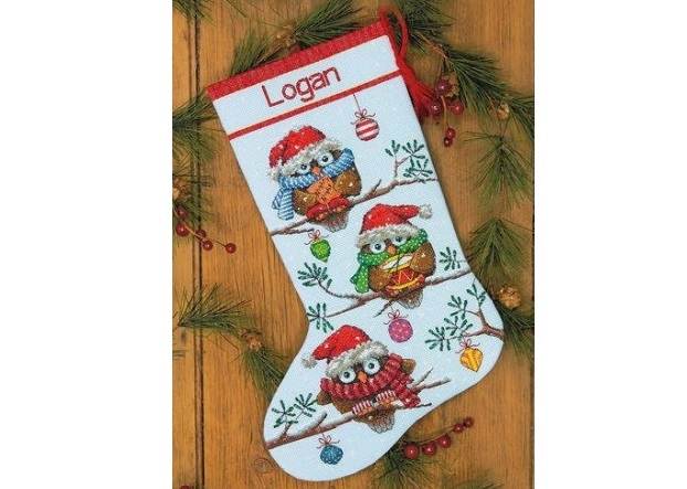 "Kojinė ""Holiday Hooties Stocking"" (8951)"