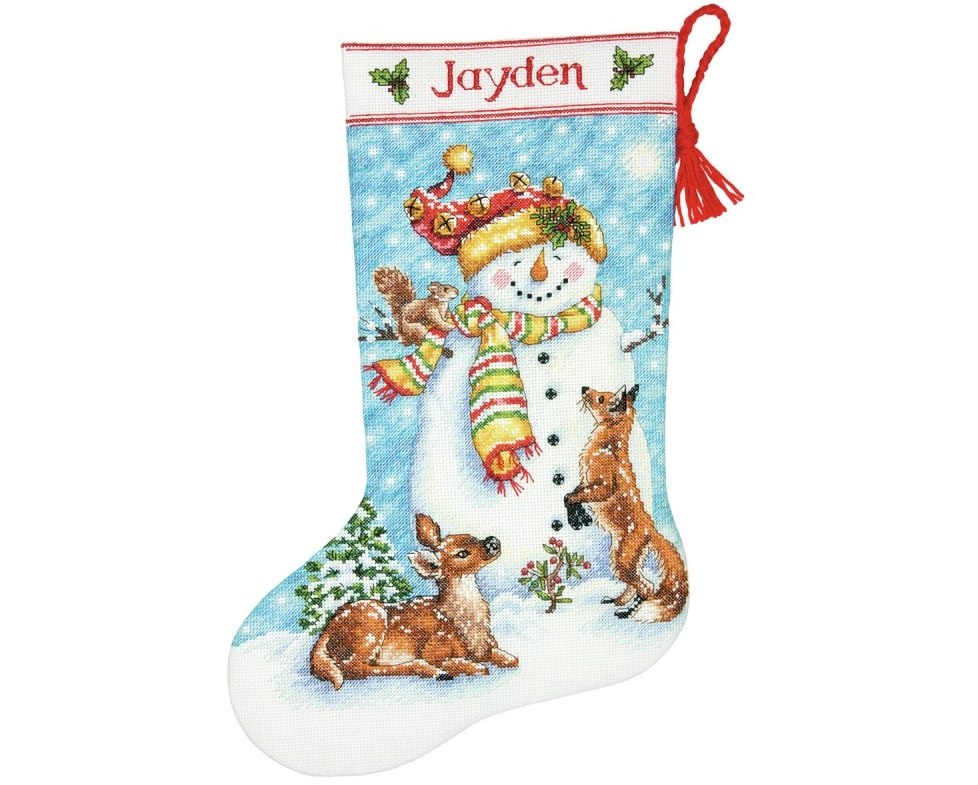"Kojinė ""Winter Friends Stocking"" (8963)"