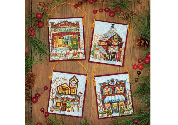 Winter Village Ornaments (8954)