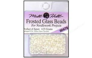 .Karoliukai Mill Hill Frosted Seed Beads 60000-66000